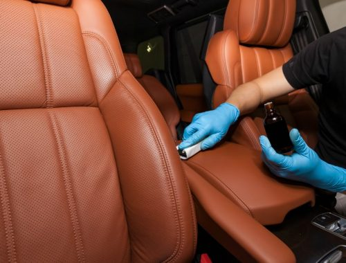 car leather cleaning nano